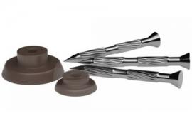 Vinys ir tarpinės galvutės drenažinės membranos tvirtinimui