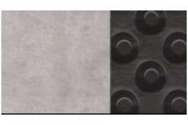 Drenažinė membrana ISO-DRAIN 8 DIAGONAL iso drain 8 geo INTERPLAST® ISO-DRAIN 8 GEO lakštas su įdubimais suteikia požeminėms pamatinėms sienoms puikų drenažą ir apsaugą nuo mechaninio poveikio. Neaustinis geotekstilinis sluoksnis virš įdubimų sukuria pastovų oro tarpą, reikiamą patikimai ventiliacijai ir vandens drenažui iš aplinkinio grunto. Kombinuota sistema plačiai naudojama: rūsiams, požeminėms stovėjimo aikštelėms, plokštiems ir garažų stogams ir kt. Pastovus oro tarpas, vandens dalelės išfiltruojamos geotekstiliniu sluoksniu Puikus drenažas Puiki suspaudžiamumo jėga (250 kN/m2) Didelis atsparumas mechaniniam poveikiui Labai didelis patvarumas, patvari struktūros apsauga Drenažinė membrana GUTTA BETA Drenažinė membrana ISO-DRAIN 8 DIAGONAL Drenažinė membrana IZOFLEX 400 Drenažinė membrana DELTA NB Drenažinė membrana su geotekstile ISO-DRAIN 8 GEO Kainos Aprašymas Techniniai duomenys Įrengimo sprendimai Sertifikatai Drenažinė membrana su geotekstile DELTA NP DRAIN Drenažinė membrana apželdintam stogui įrengti FLORAXX TOP Drenažinė membrana su geotekstile, keturių sluoksnių DELTA-GEO-DRAIN Quattro Užbaigimo profilis drenažinei membranai, rudos spalvos Užbaigimo profilis drenažinei membranai, juodos spalvos Vinys ir tarpinės galvutės drenažinės membranos tvirtinimui Sandarinimo juosta drenažinės membranos sujungimui Spiralinis kaištis membranos ir profilio tvirtinimui Tarpinė vinims membranos tvirtinimui